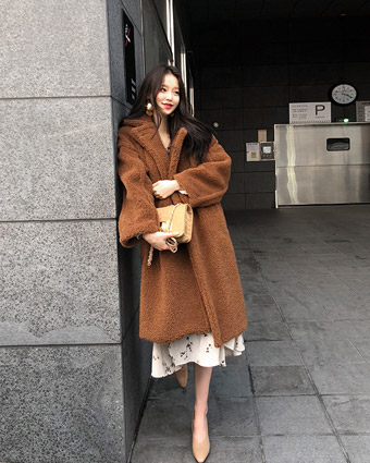 mild long coat (2colors!) [beige-일주일 지연]