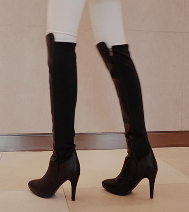 *long span boots (2type)