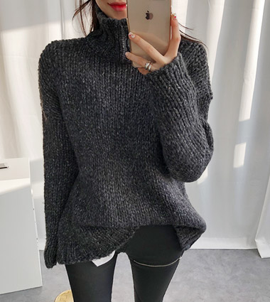 *anyway turtle-neck knit (3colors!)