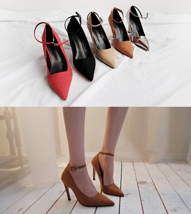 **secret line strap heel (5colors!)