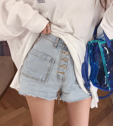 many button pants - 7/26일 입고예정