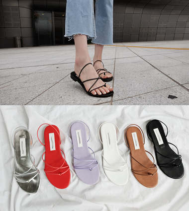 link strap sandal(6colors!)