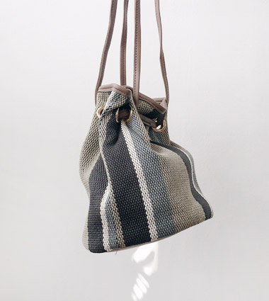 lacie string bag(4color!)
